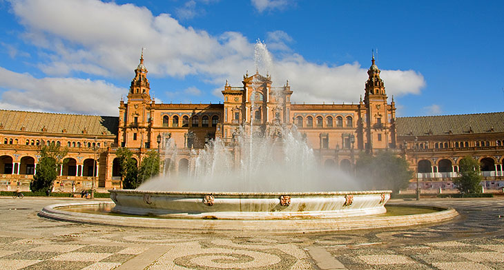 Fountain of Plaza de España