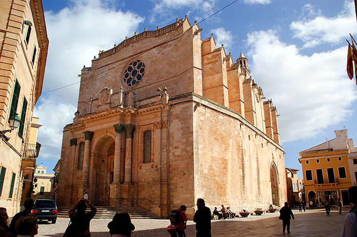 Gothic Cathedral in Ciutadella
